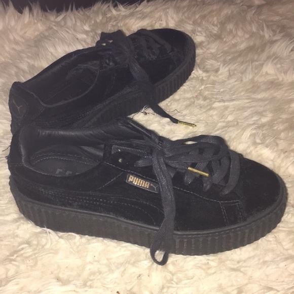 Fenty x Puma Translucent Sole Creeper Sneakers